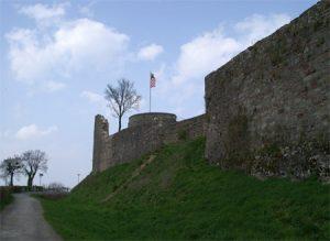 Außenmauer Botenlauben