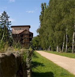 Gradierwerk an der Saale zu Bad Kissingen