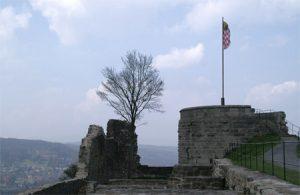Innenbereich Burg Botenlauben