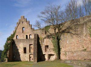 Außenfassade Ruine Scherenburg