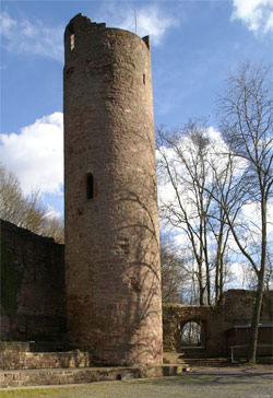 Bergfried Ruine Scherenburg