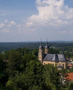 """Wallfahrtskirche """"Hl. Dreifaltigkeit"""" erbaut von Balthasar Neumann"""
