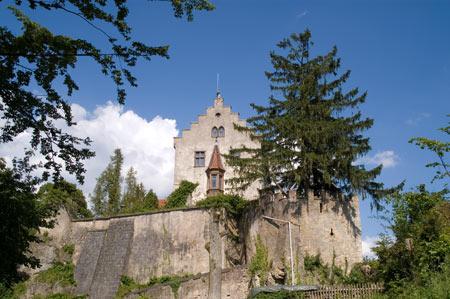 Zugang zur Burg Gößweinstein