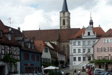 Stadtmitte von Iphofen