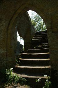 Hoftor der Ruine Rotenhan