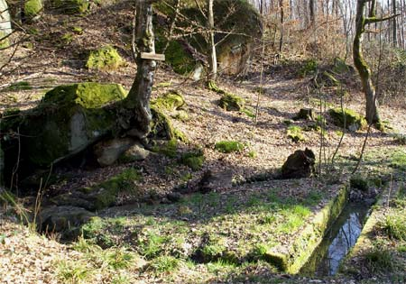 Pferdetränke am Lehrpfad