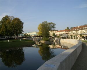 Parkanlage in Bad Kissingen