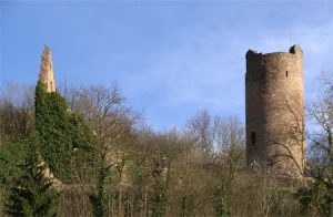Außenansicht Ruine Scherenburg
