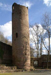 Bergfried Ruine Scherenburg
