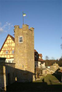 Turm der Burg Königsberg
