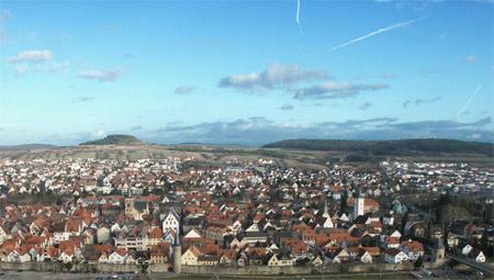 Übersicht über Karlstadt am Main
