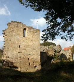 Innenbereich Nordburg Lichtenstein